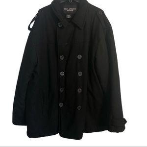 Cellangino Men's Pea Coat